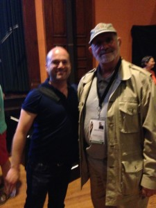 Me and Brian De Palma at the Provincetown Int'l Film Festival - June 2013