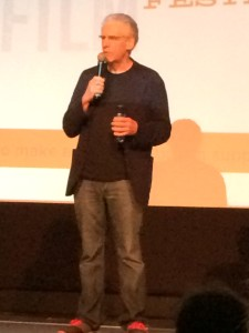 "David Cronenberg introducing ""Naked Lunch"" at the Provincetown Film Festival - June 20, 2014"