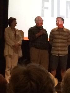 Director Sheila Canavan, Barney Frank, Jim Ready